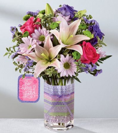 The So Very Loved™ Bouquet by Hallmark in Sapulpa OK, Neal & Jean's Flowers & Gifts, Inc.