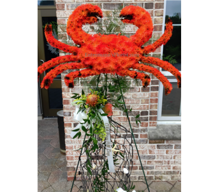 Red Crab in Jersey City NJ, Entenmann's Florist