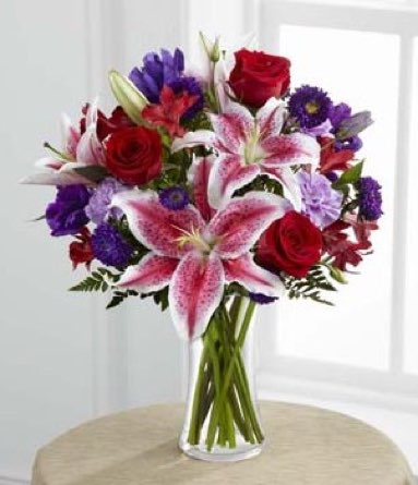 The Stunning Beauty™ Bouquet in Sapulpa OK, Neal & Jean's Flowers & Gifts, Inc.
