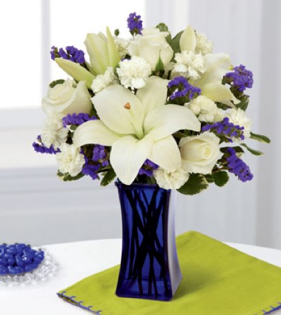 The Beyond Blue™ Bouquet in Sapulpa OK, Neal & Jean's Flowers & Gifts, Inc.
