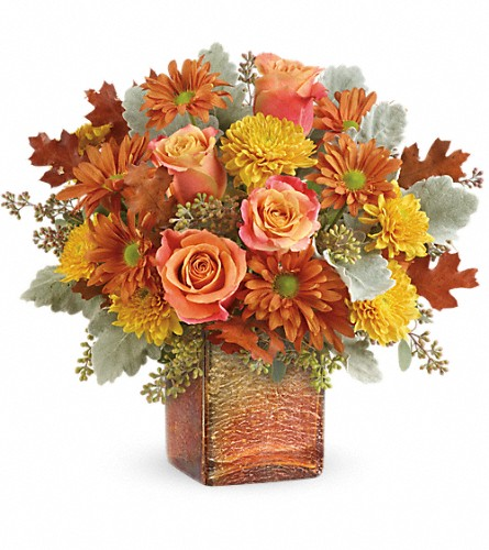 Teleflora's Grateful Golden Bouquet in Reading PA, Heck Bros Florist