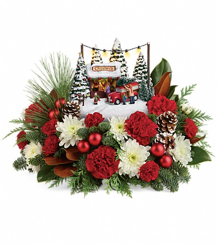 Thomas Kinkade's Family Tree Bouquet in Rochester NY, Red Rose Florist & Gift Shop