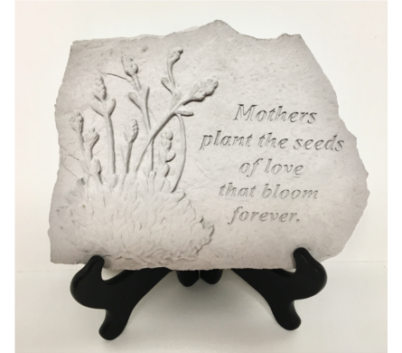 Mothers Plant the Seeds... Garden Stone and Stand in Wyoming MI, Wyoming Stuyvesant Floral