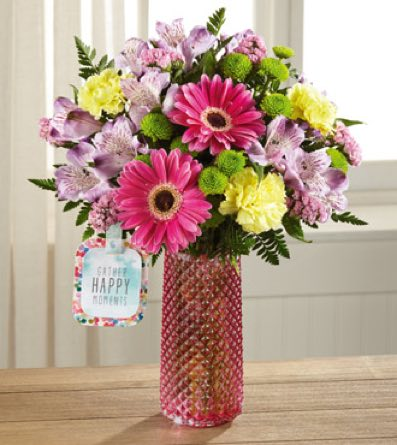 The Happy Moments™ Bouquet by Hallmark  in Sapulpa OK, Neal & Jean's Flowers, Inc.