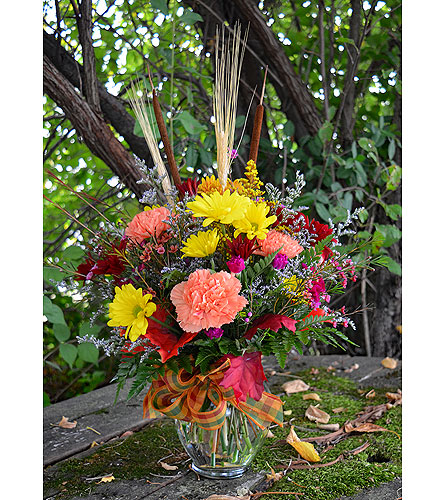 Bountiful Fall in Indianapolis IN, Gillespie Florists