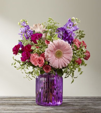 The Purple Prose™ Bouquet by BHG in Sapulpa OK, Neal & Jean's Flowers & Gifts, Inc.