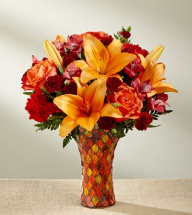 The Autumn Splendor® Bouquet in Sapulpa OK, Neal & Jean's Flowers & Gifts, Inc.