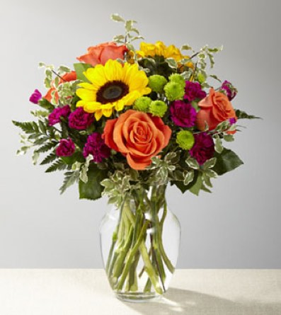The Color Craze™ Bouquet in Sapulpa OK, Neal & Jean's Flowers & Gifts, Inc.