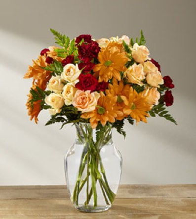 The Golden Autumn™ Bouquet in Sapulpa OK, Neal & Jean's Flowers & Gifts, Inc.