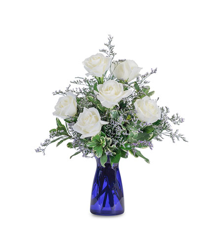 Roses in Blue in Bel Air MD, Richardson's Flowers & Gifts