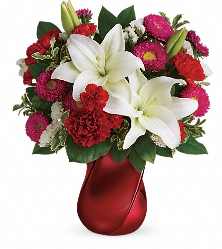 Teleflora's Always There Bouquet in Hales Corners WI, Barb's Green House Florist
