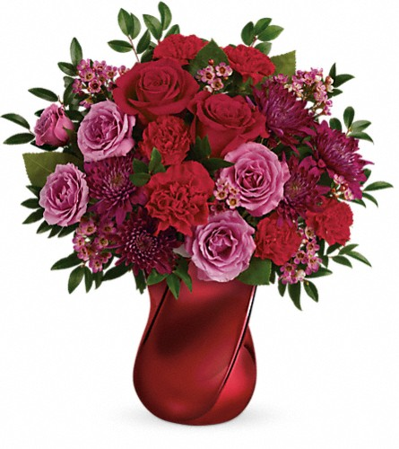 Teleflora's Mad Crush Bouquet in Edmonton AB, Petals For Less Ltd.