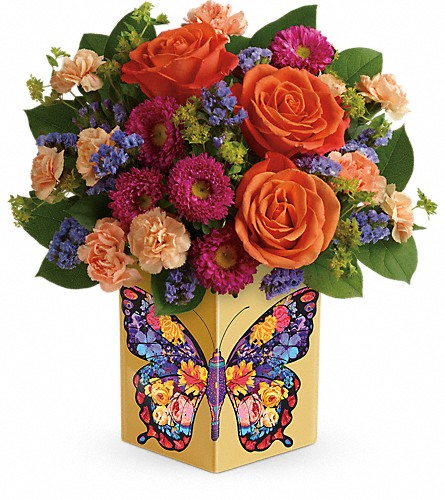 Teleflora's Gorgeous Gratitude Bouquet in usa-send-flowers NJ, Stanley's America's Florist & Gifts