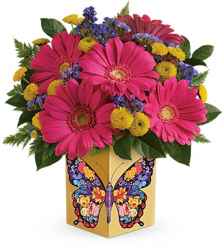Teleflora's Wings Of Thanks Bouquet in McHenry IL, Locker's Flowers, Greenhouse & Gifts