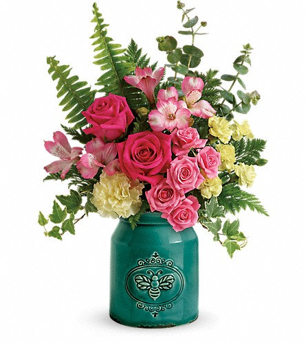 Teleflora's Country Beauty Bouquet in Edmonton AB, Petals For Less Ltd.