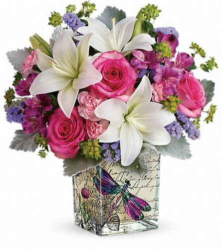 Teleflora's Garden Poetry Bouquet in Pleasanton TX, Pleasanton Floral
