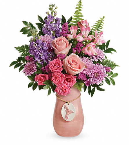 Teleflora's Winged Beauty Bouquet in Syracuse NY, St Agnes Floral Shop, Inc.