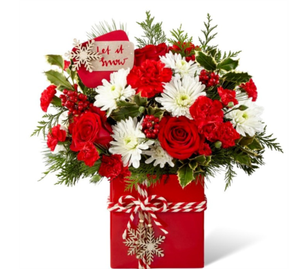 Holiday Cheer Bouquet dans Watertown CT, Agnew Florist