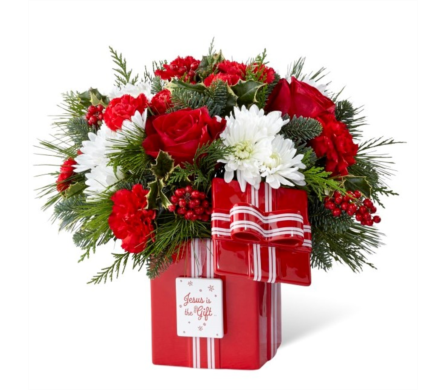 DaySpring® Jesus is the Gift™ Bouquet dans Watertown CT, Agnew Florist