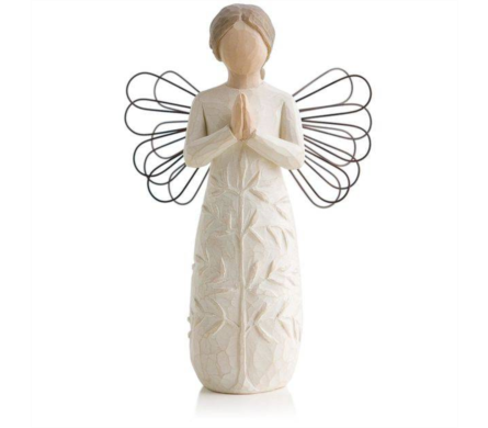 Willow Tree Figurine - Angel a Tree, A Prayer in Timmins ON, Timmins Flower Shop Inc.