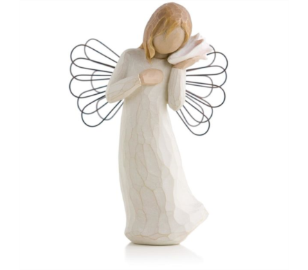 Willow Tree Figurine - Thinking of you in Timmins ON, Timmins Flower Shop Inc.