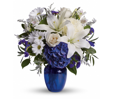 Beautiful in Blue in Campbell CA, Citti's Florists