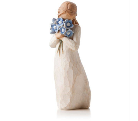 Willow Tree Figurine - Forget-Me-Not in Timmins ON, Timmins Flower Shop Inc.