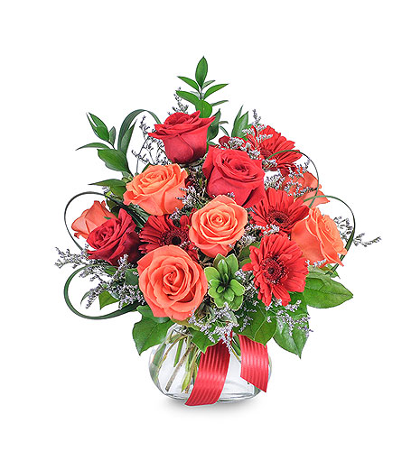 Scarlet Fire in Avon Lake OH, Sisson's Flowers & Gifts