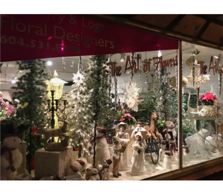 Xmas Store Front in White Rock BC, Ashberry & Logan