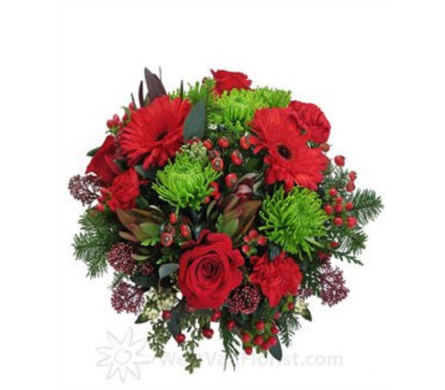 CHRISTMAS CUT FLOWERS in Edmonton AB, Flowers By Merle