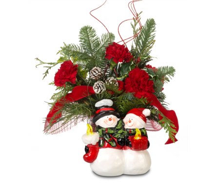 Winter Friends in St. Louis MO, Walter Knoll Florist
