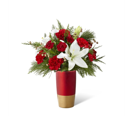 The FTD® Holiday Celebrations® Bouquet in Des Moines IA, Doherty's Flowers