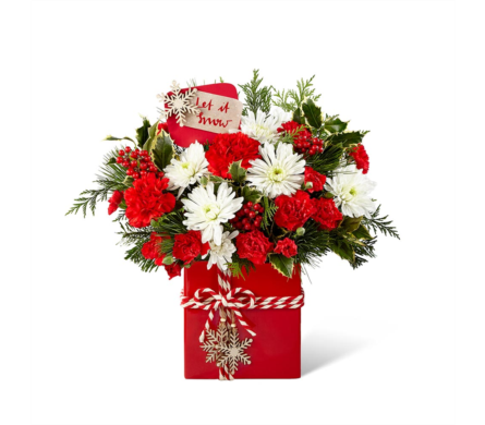 The FTD� Holiday Cheer� Bouquet in Des Moines IA, Doherty's Flowers