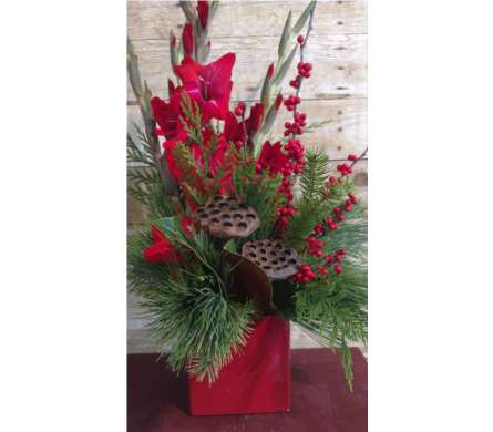 Happy Holidays in Sioux Falls SD, Cliff Avenue Florist
