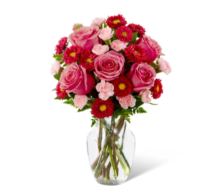 The FTD� Precious Heart Bouquet in Des Moines IA, Doherty's Flowers