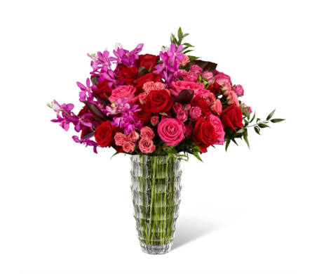 The FTD� Heart�s Wishes� Luxury Bouquet in Des Moines IA, Doherty's Flowers