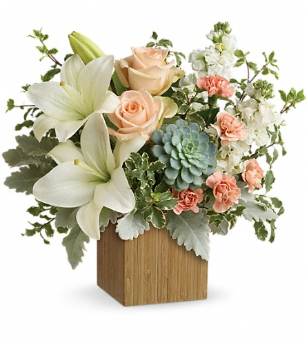 Teleflora's Desert Sunrise Bouquet in Fort Worth TX, TCU Florist