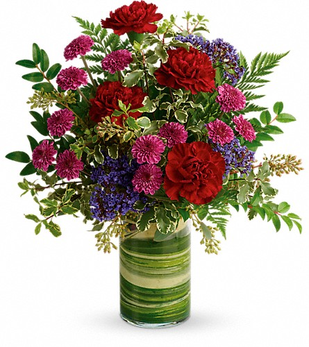 Teleflora's Vivid Love Bouquet in Eugene OR, Rhythm & Blooms