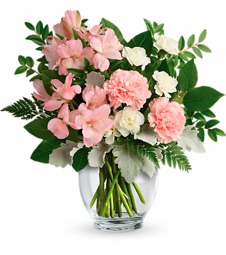 Teleflora's Whisper Soft Bouquet in Drayton ON, Blooming Dale's