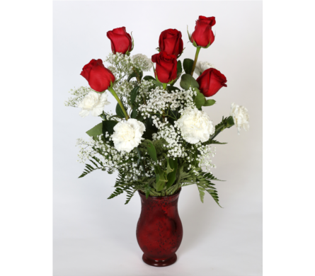 Roses & Carnations in Southampton PA, Domenic Graziano Flowers