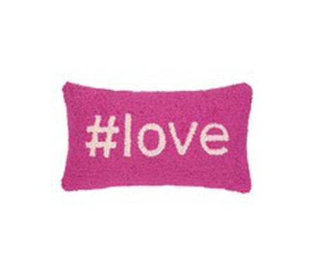 HASHTAG LOVE PILLOW in Bellevue WA, CITY FLOWERS, INC.