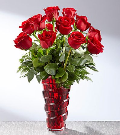 The In Love with Red Roses™ Bouquet in Sapulpa OK, Neal & Jean's Flowers & Gifts, Inc.
