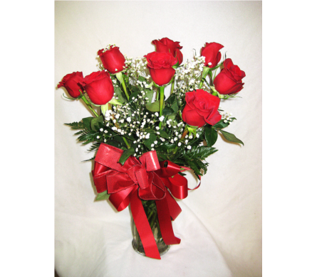 Dozen Red Roses  in Lake Charles LA, A Daisy A Day Flowers & Gifts, Inc.