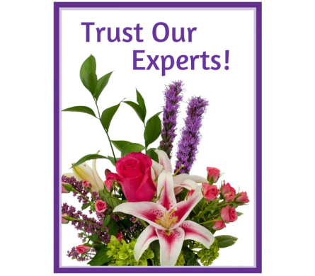 Trust Our Experts Custom Bouquets in Kalispell MT, Flowers By Hansen, Inc.