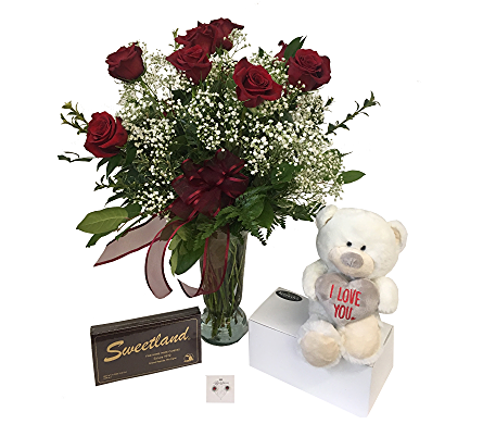 Valentine's Package in Grand Rapids MI, Kennedy's Flower Shop