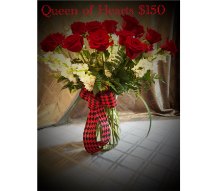 Queen Of Hearts in Hilton Head Island SC, Flowers by Sue, Inc.