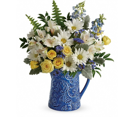 Bright Skies Bouquet in Smyrna GA, Floral Creations Florist