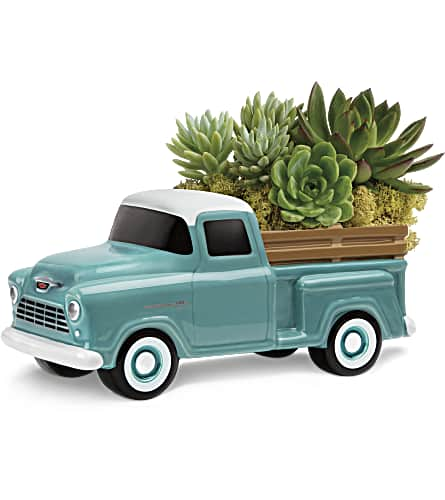 Perfect Chevy Pickup by Teleflora in El Cajon CA, Jasmine Creek Florist