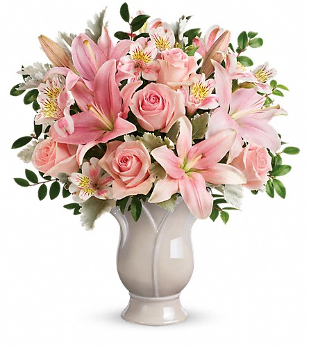 Teleflora's Soft And Tender Bouquet in Morgantown PA, The Greenery Of Morgantown