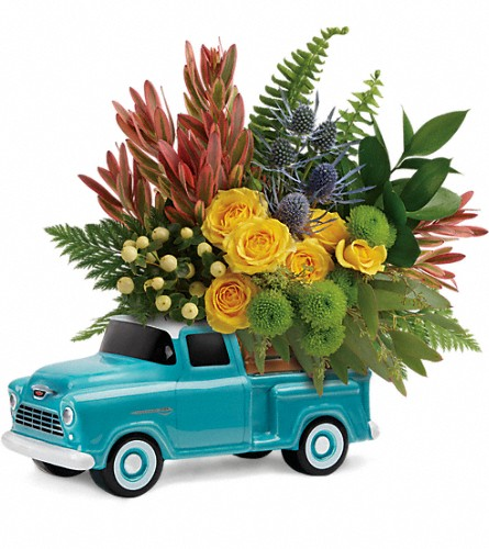 Timeless Chevy Pickup by Teleflora in El Cajon CA, Jasmine Creek Florist
